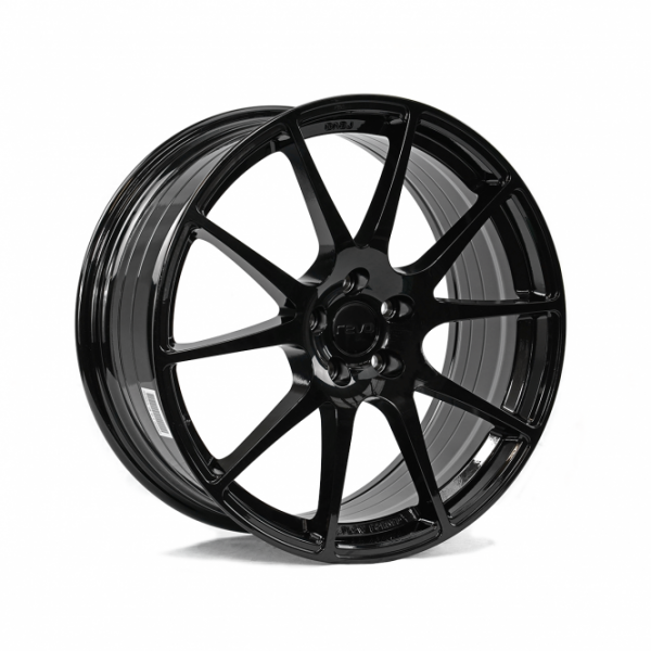 Gloss black revo wheels